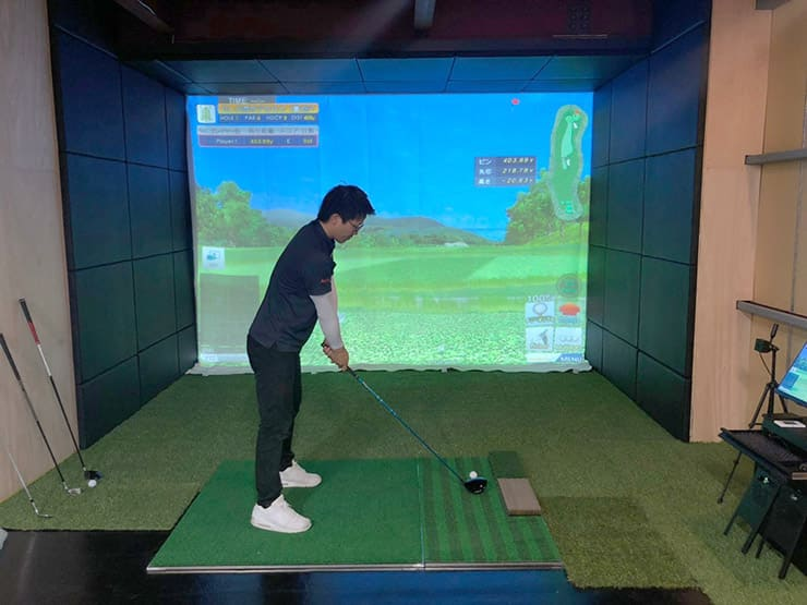 Installed 'Joy Golf Smart +' for a corporate welfare program in Osaka Prefecture.